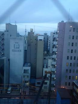 View from my hotel room - day